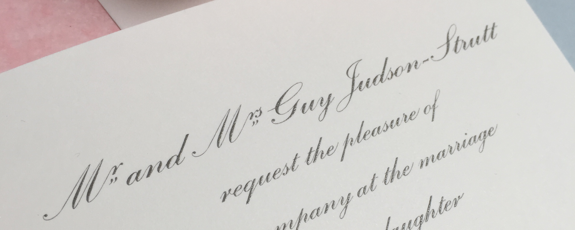 Elegant Wedding Stationery & Personal Stationery | GeeBrothers.co.uk