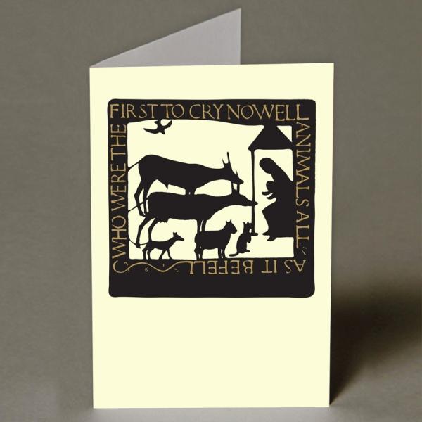 Animals All Christmas Card
