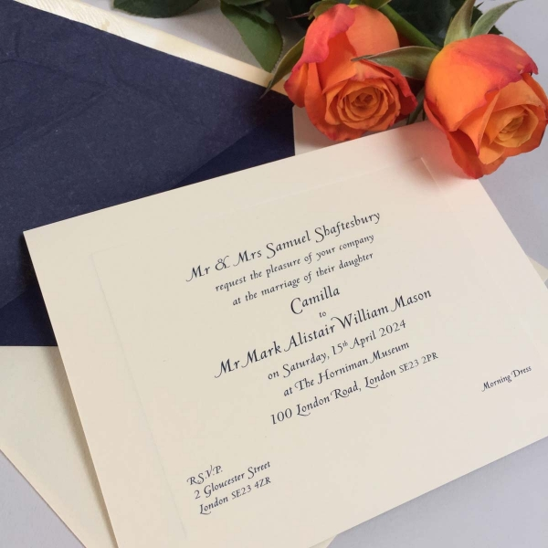 Camilla Wedding Invitations