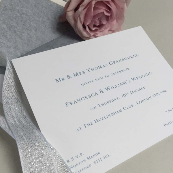Cranbourne Wedding Invitations