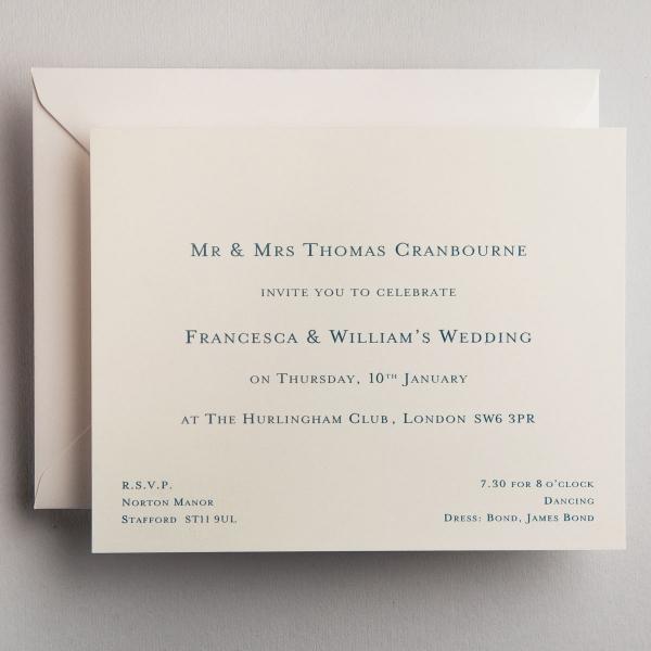 Cranbourne Wedding Invitations