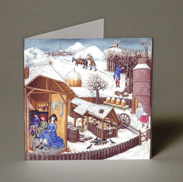 February Christmas Cards