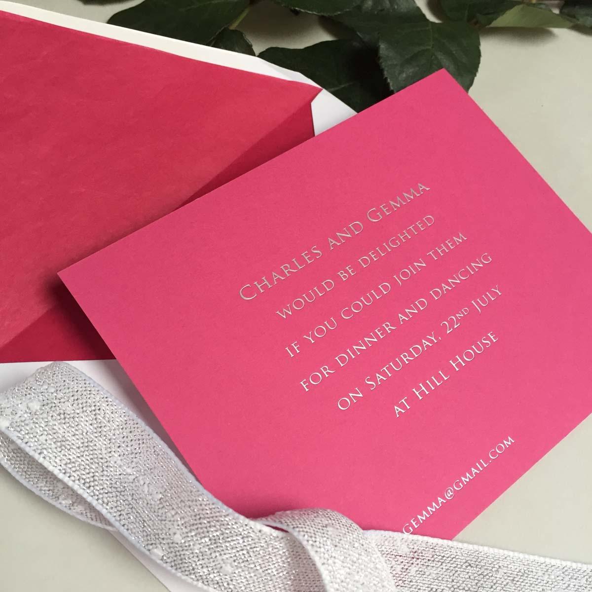 gemma wedding invitations