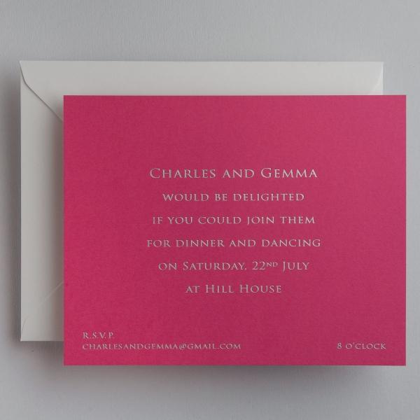 Wedding Invitations, Wedding