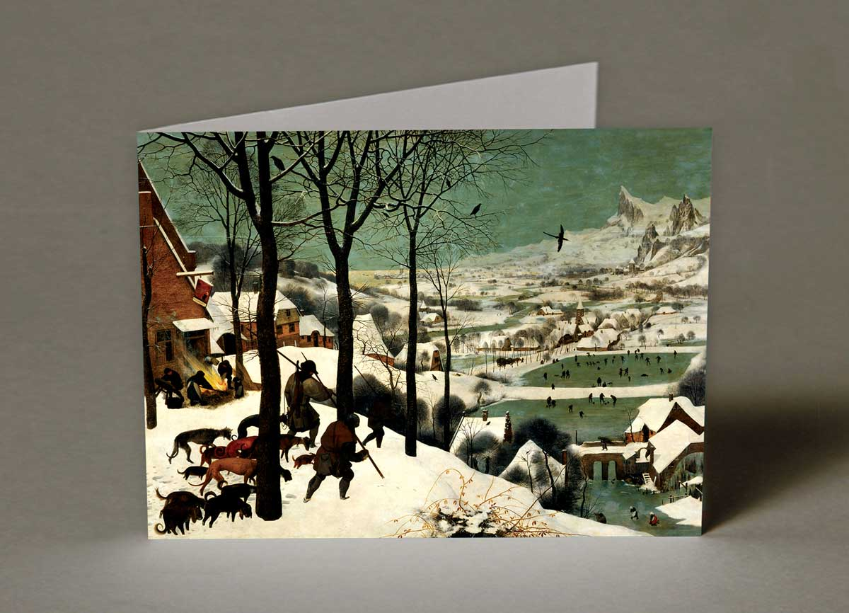 Hunters in the Snow Christmas Cards