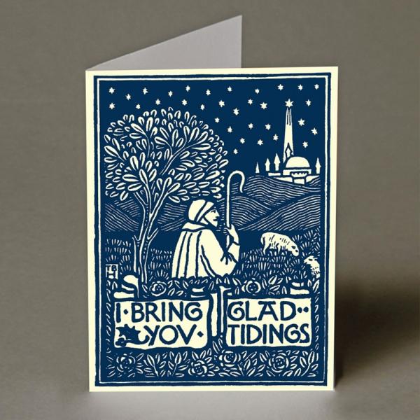 I Bring You Glad Tidings Christmas Card