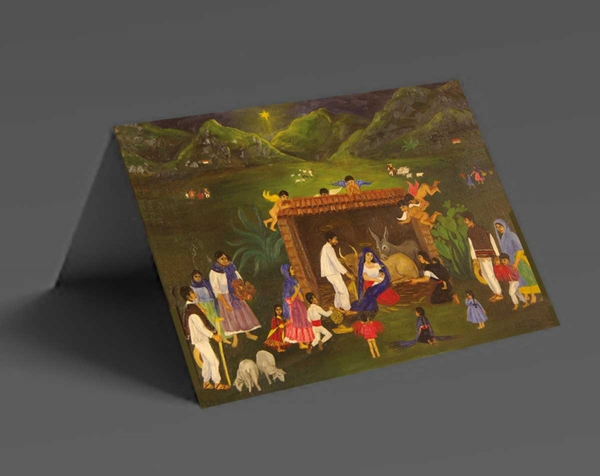 Mexican Nativity Christmas Cards