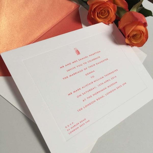 Pineapple Wedding Invitations