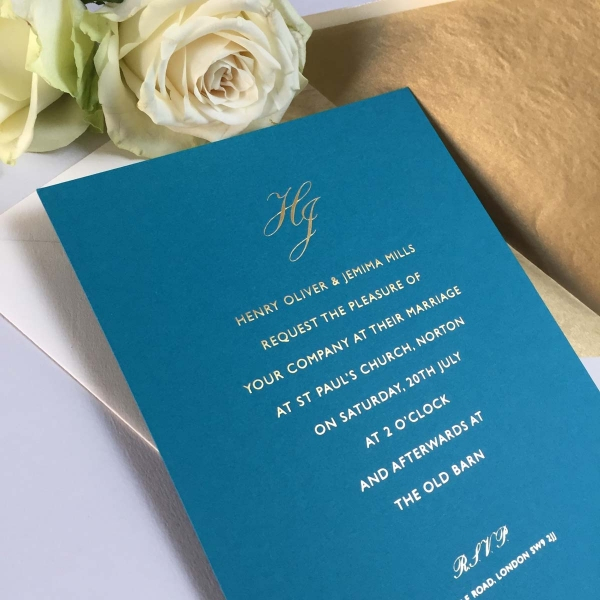 Riviera Wedding Invitations