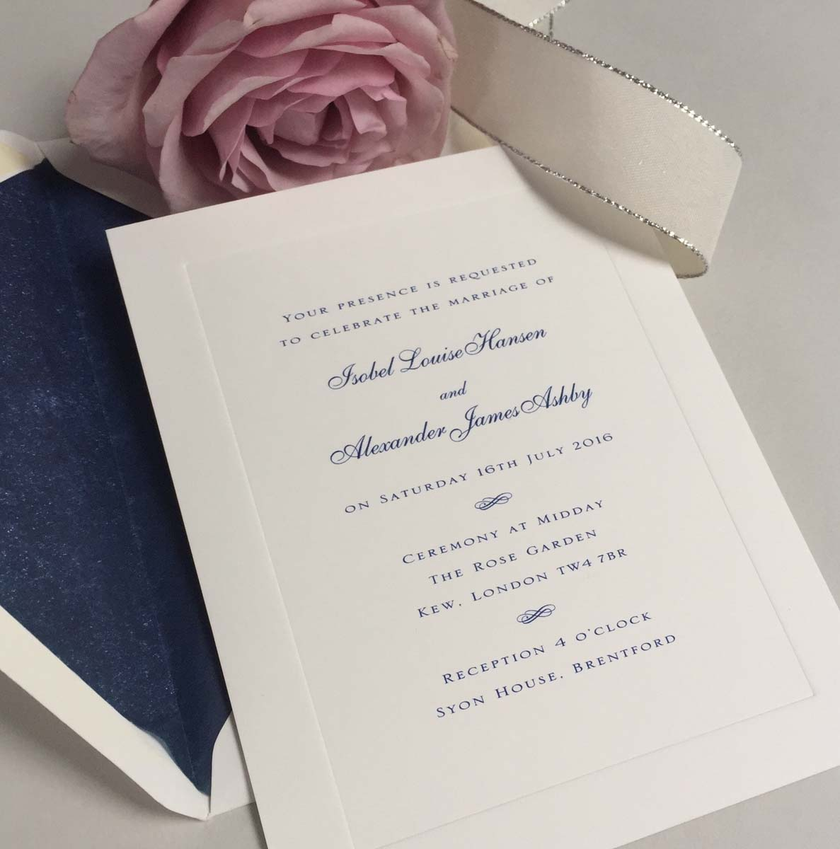 Royal Wedding Invitations