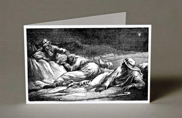 Shepherd's Sleeping Christmas Cards