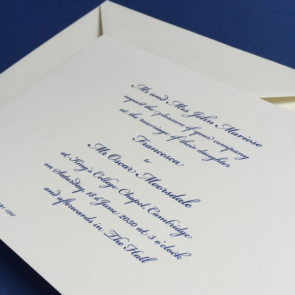 Thermography Invitation as great invitation layout