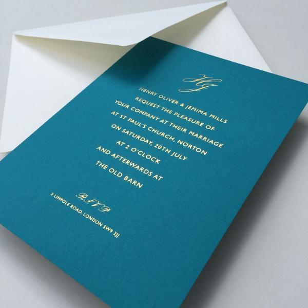 Riviera Wedding Invitations