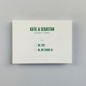 Katie Green Reply Cards