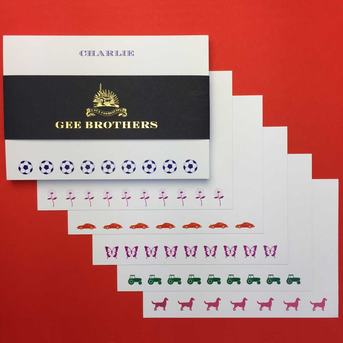 Childrens\' Postcards - Small Set - Personal Stationery | GeeBrothers ...