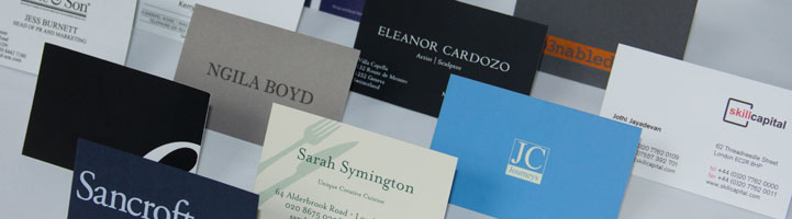 personalised luxury Business Cards