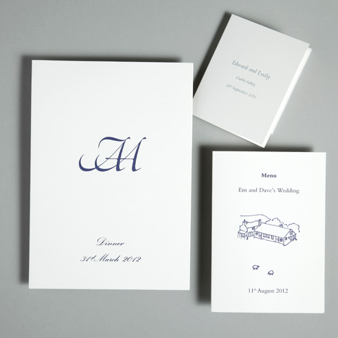 Menu Inspiration & ideas - Wedding Stationery | GeeBrothers