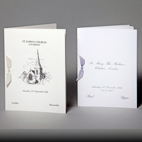 Order of Service Sheets – Wedding Invitations, Wedding Stationery ...