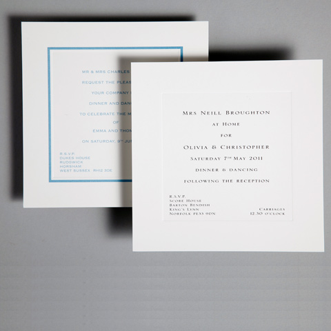 Reception Invitations