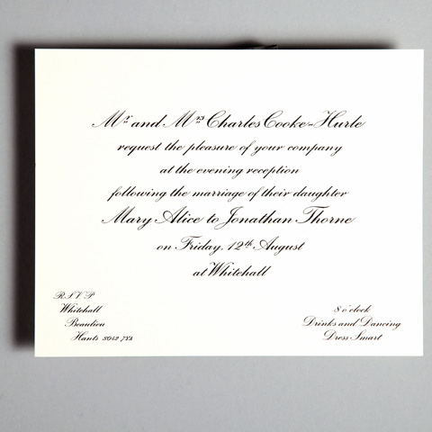 Reception Invitations Wedding Invitations Wedding Stationery