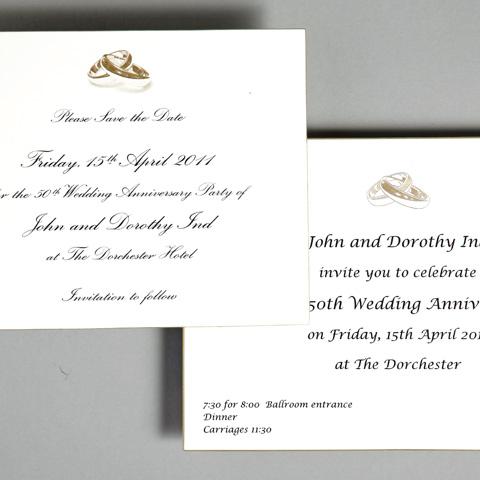anniversary invitations wedding invitations wedding stationery