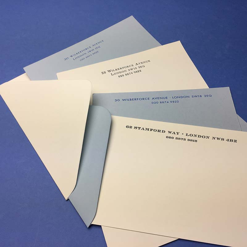 Letterhead and Correspondence cards