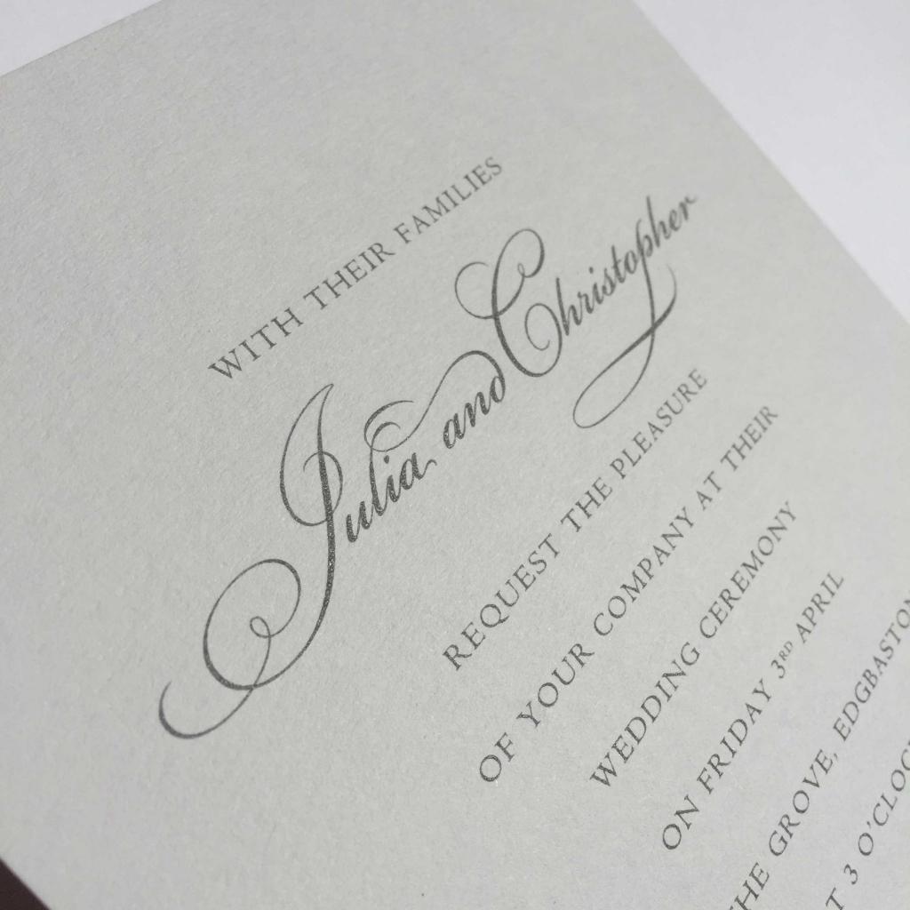 Christopher Grey Wedding Invitations   Wedding Invitations, Wedding ...
