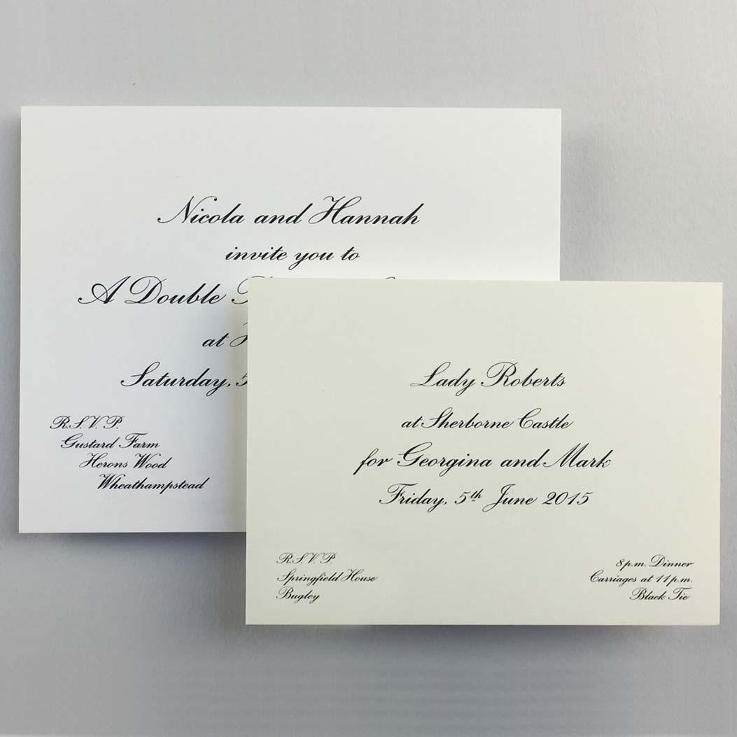 at home invitations