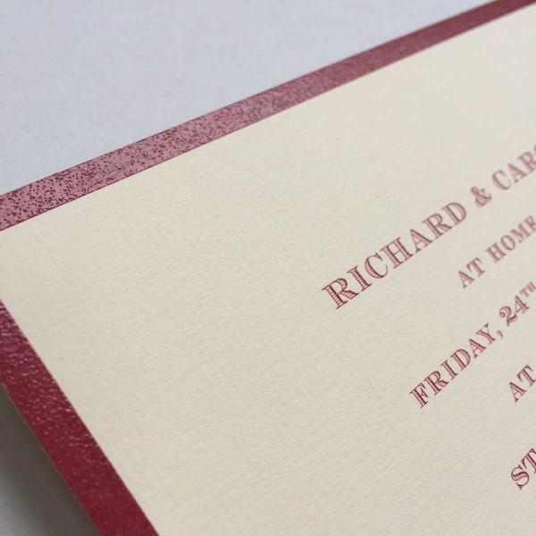 Bordered Invitations
