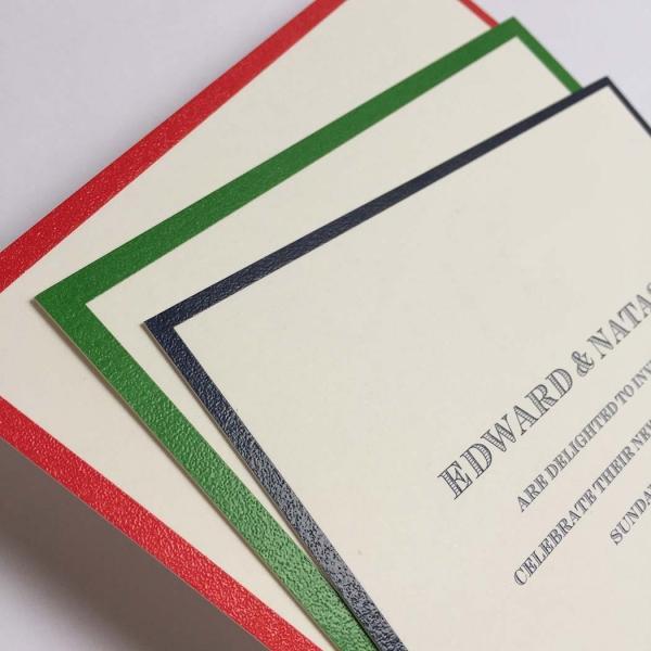 bordered party invitations