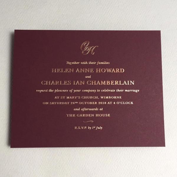 Helen Wedding Invitations