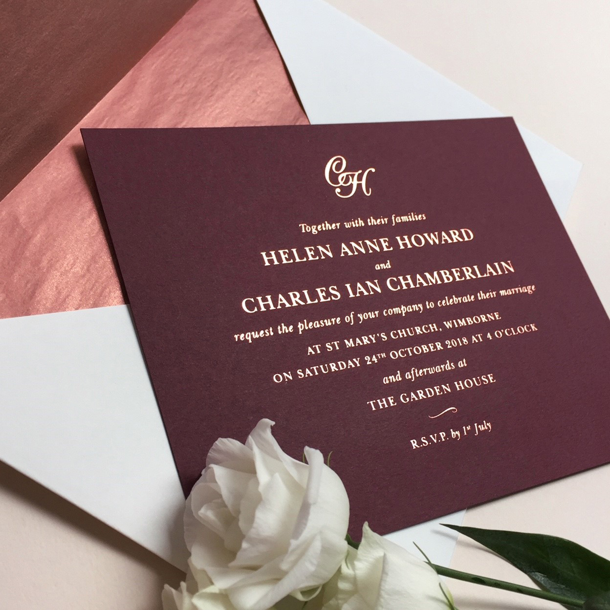 Helen Wedding Invitations