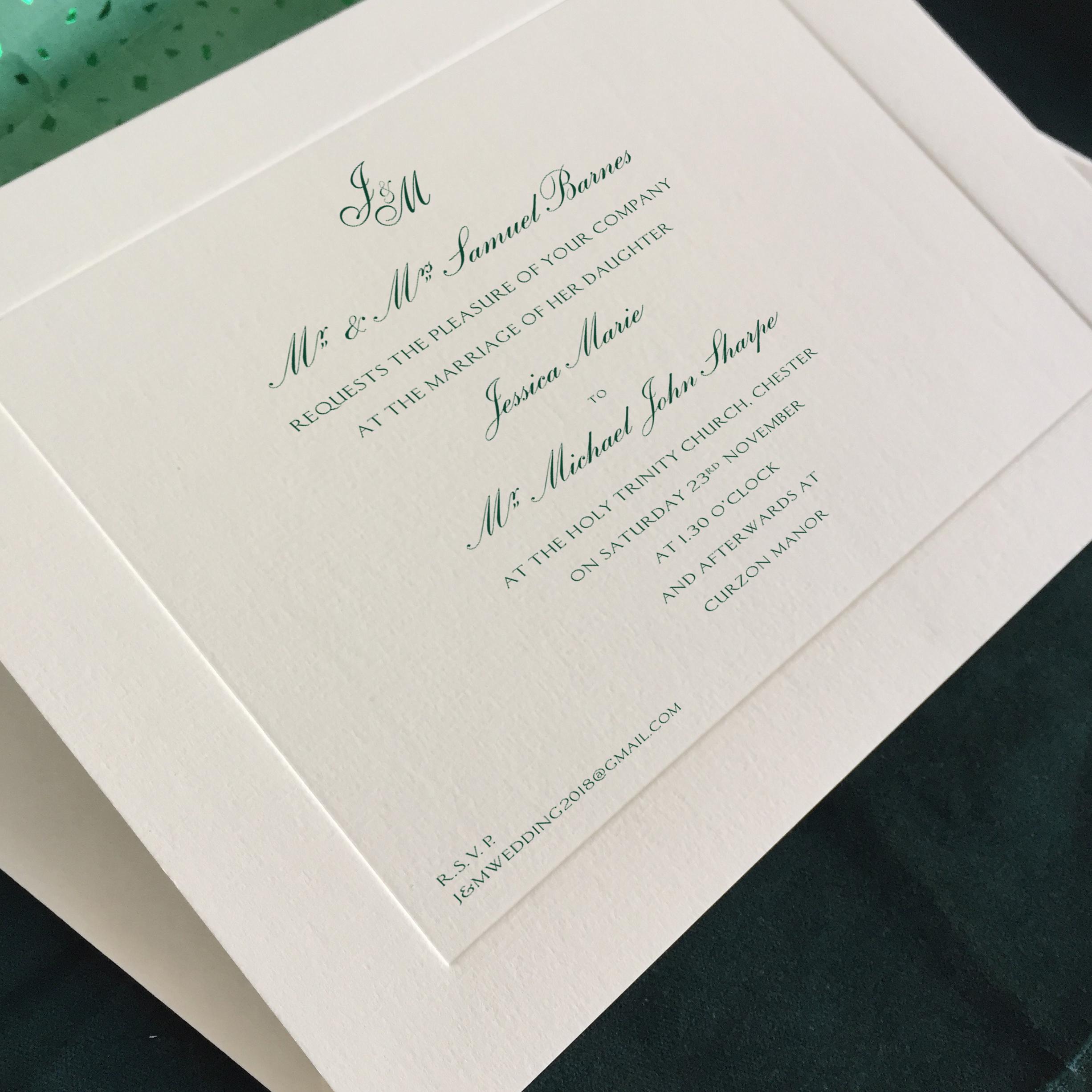 Grey Invite Motif