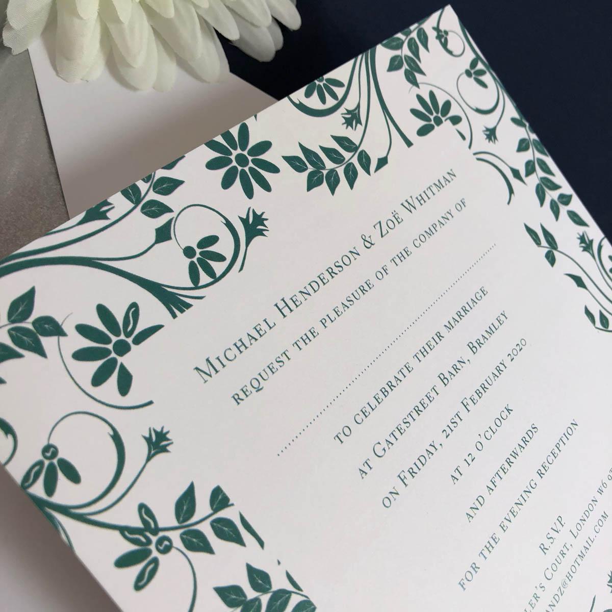 Bramley wedding invitations