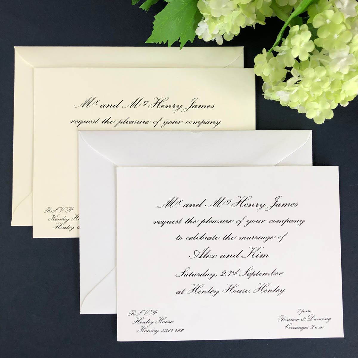 wedding reception invitations
