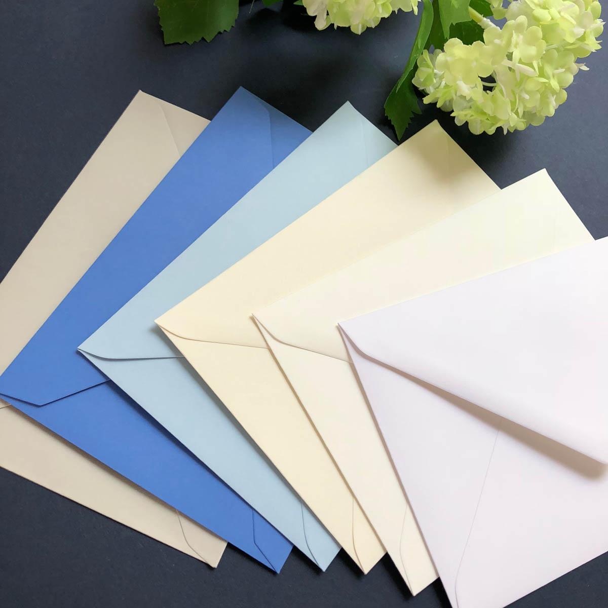 envelope colours