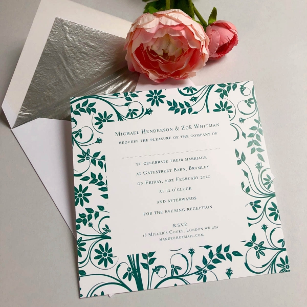 Bramley wedding invitations