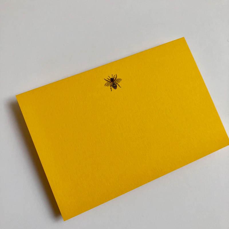 bee notecard