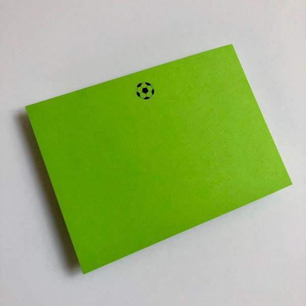 football notecards