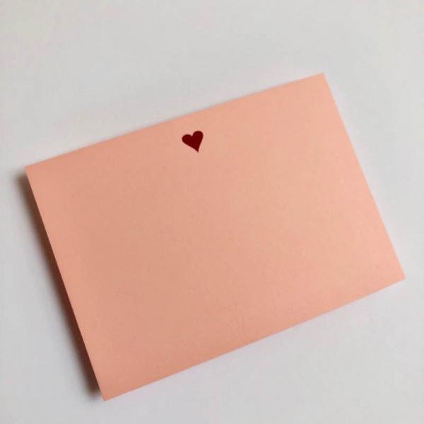 heart notecards