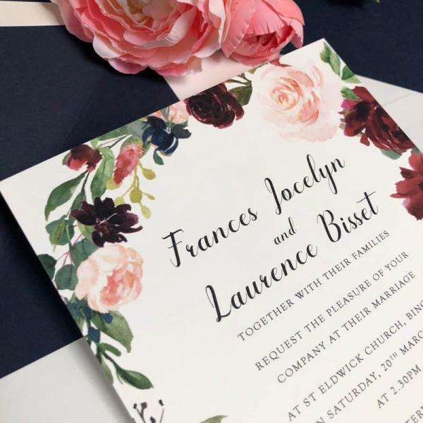 Frances Wedding Invitations
