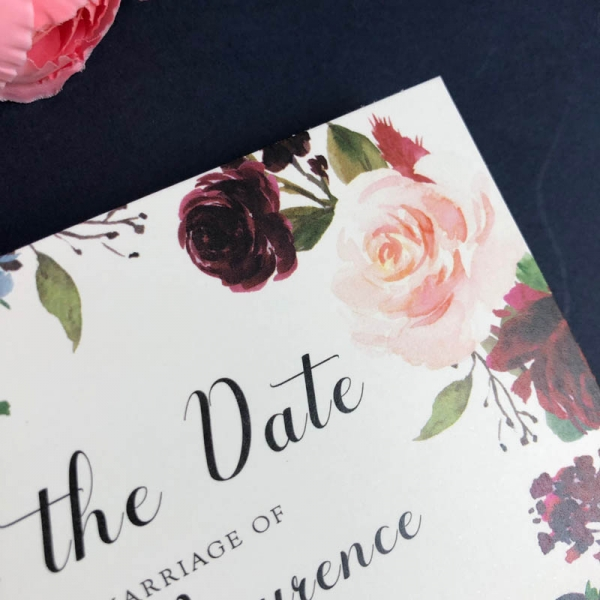 Frances Save the Date card