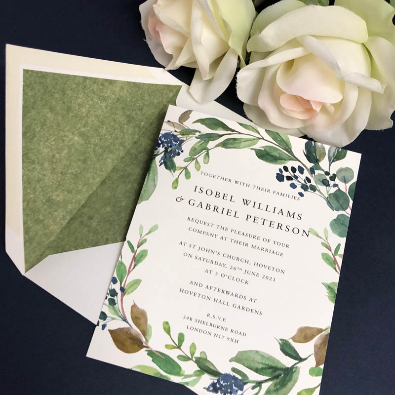 Isobel Wedding Invitations