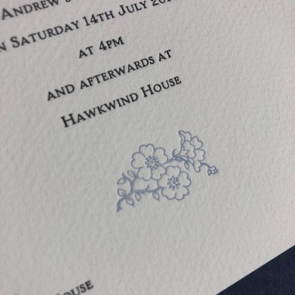 Motif Wedding Invitations