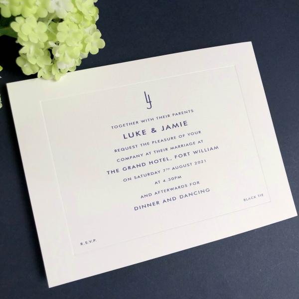 Jamie Wedding Invitations