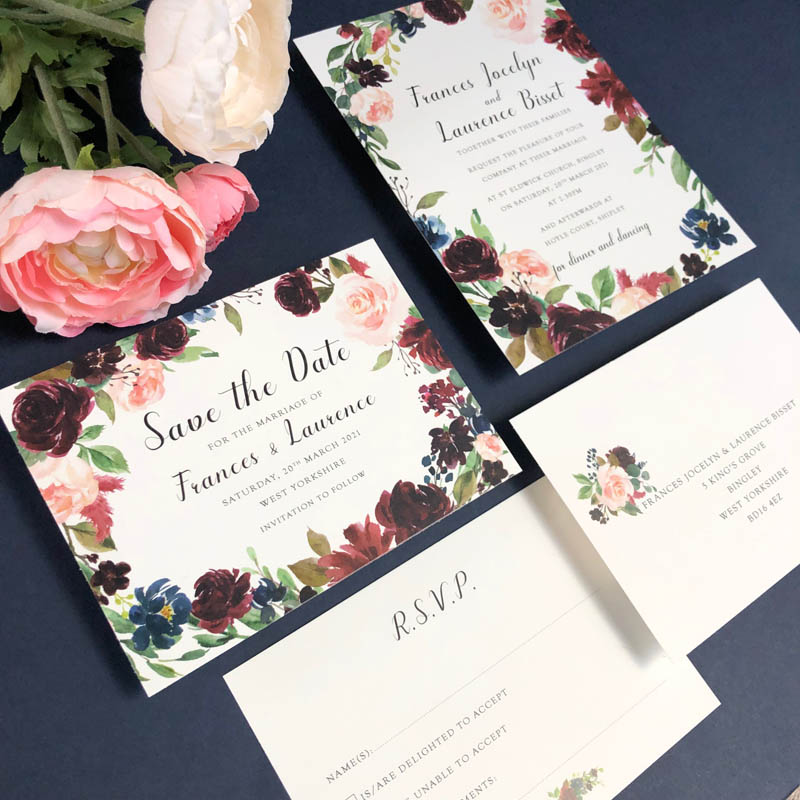 Frances Wedding Invitations