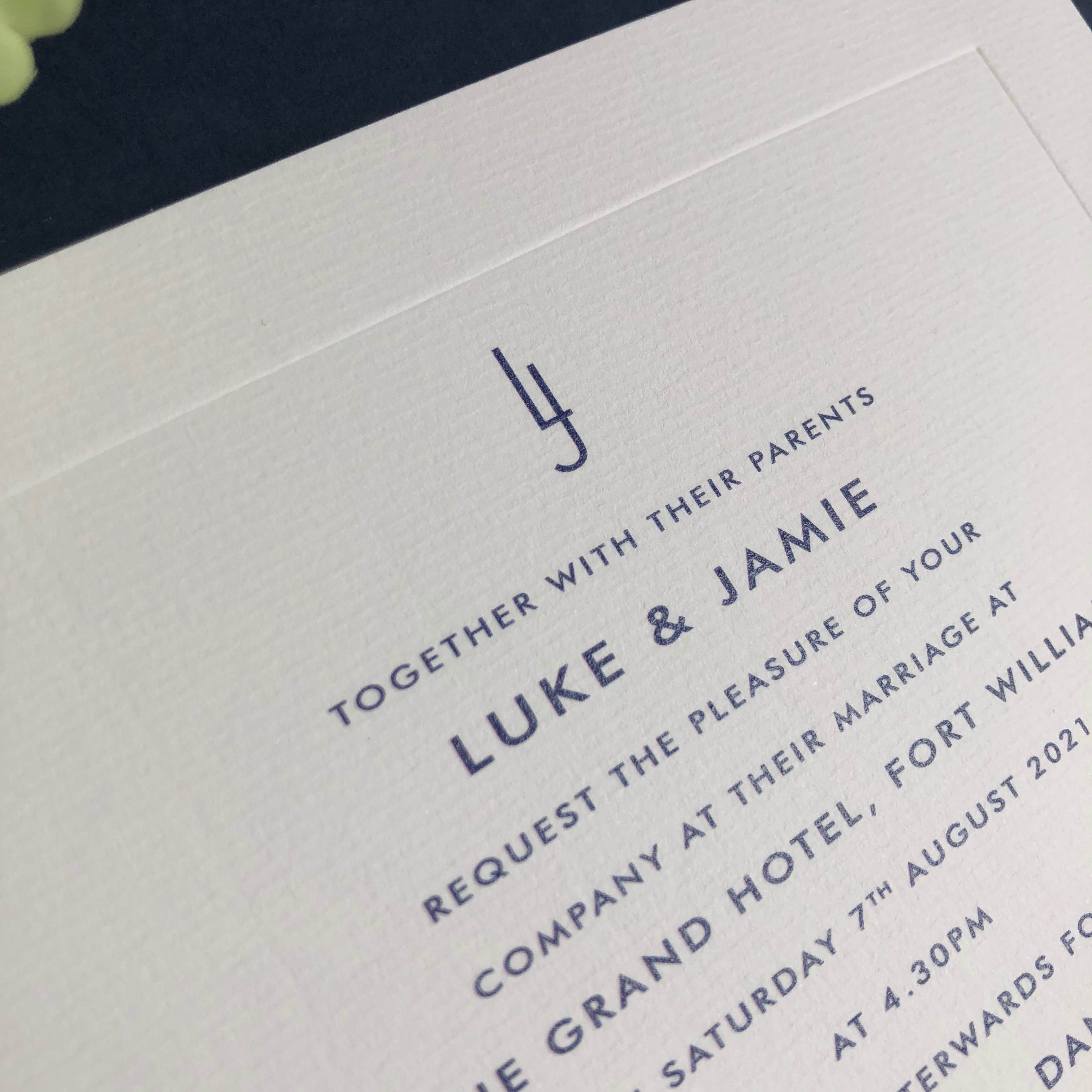 Jamie Wedding Invitations