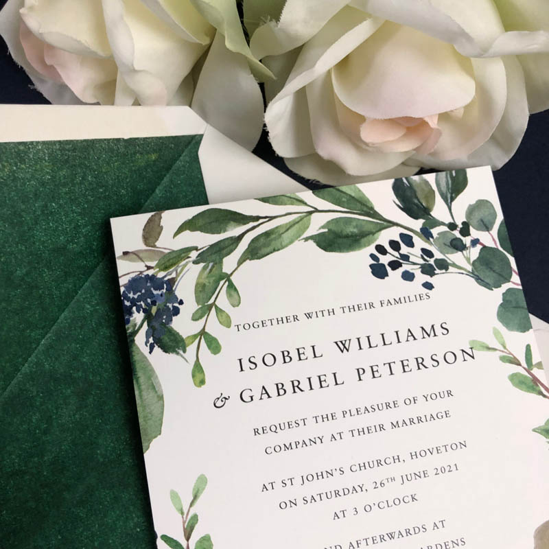 Isobel Wedding Invitation
