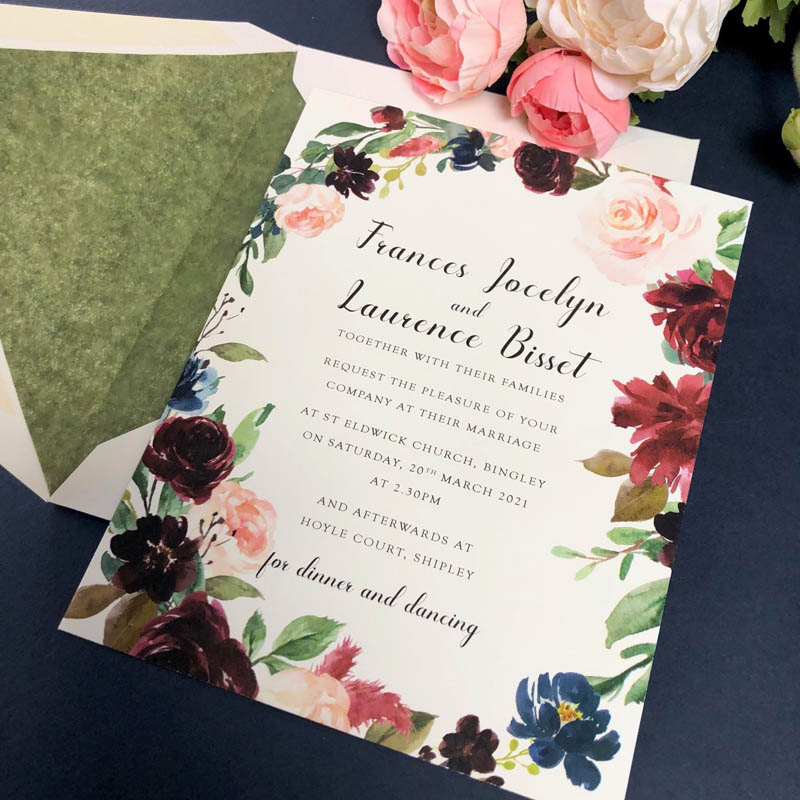 Frances Wedding Invitation