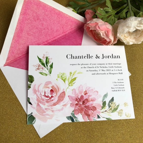Chantelle Wedding Invitation